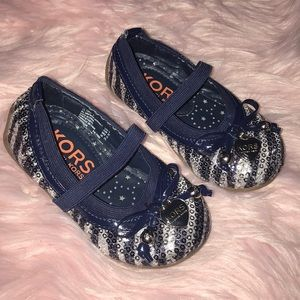 Michael Kors Toddler Sequin Slippers
